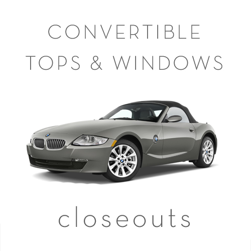 CONVERTIBLE TOPS & WINDOWS