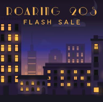 Roaring 20s Economy Black Vinyl