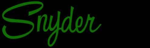 Snyder Manufacturing Logo